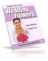 DIY wedding flowers book cover